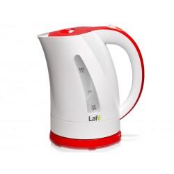 Fierbator electric 1.7L, 2200W, alb-rosu, Lafe LAFCZA44639